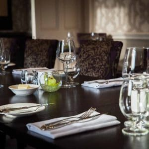 Sunday lunch for two in the Derwent Restaurant