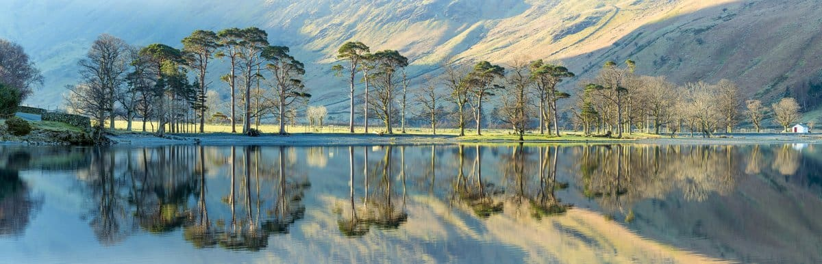 Buttermere in the Lake District Cumbria