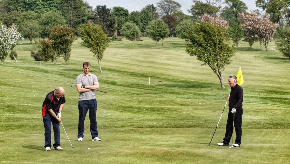 golf courses in the western lake district