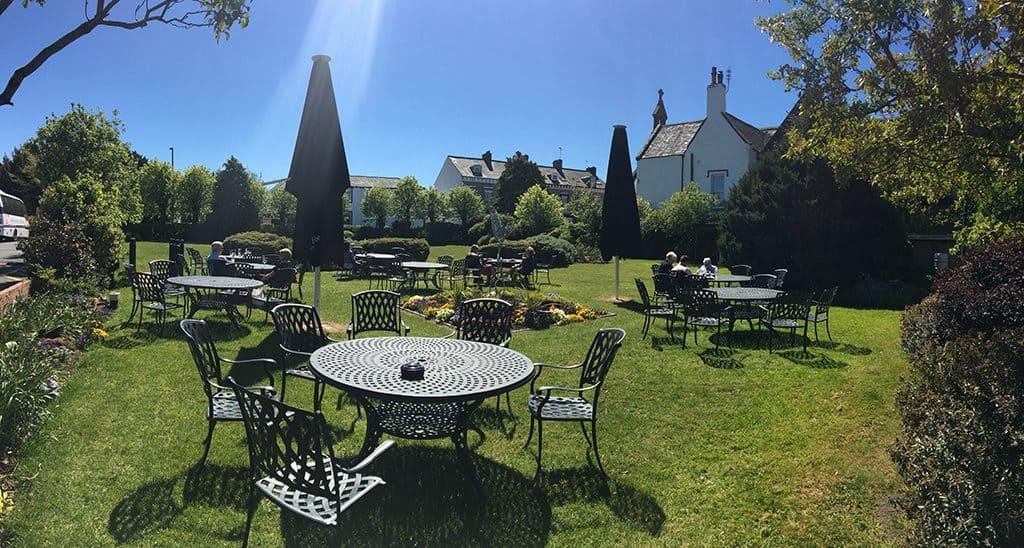 The Trout Hotel Garden