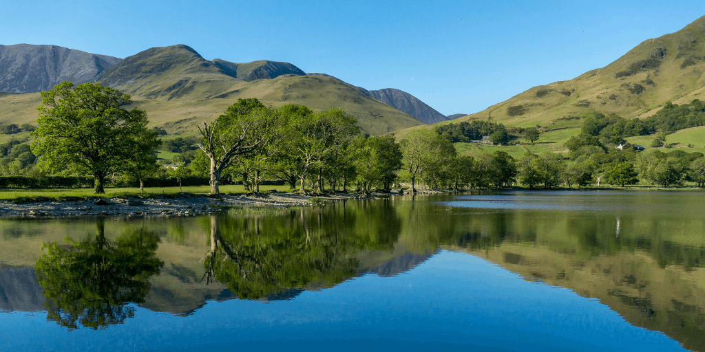 A view of Buttermere